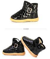 Детские лаковые ботиночки