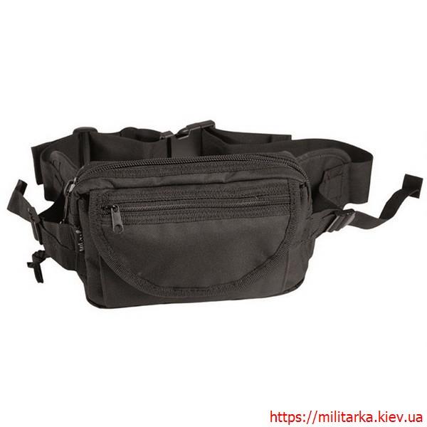 Посная сумка Mil-Tec большая черная