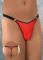 Мужские трусы-стринги Thong 4425, red, S/М, L/XL