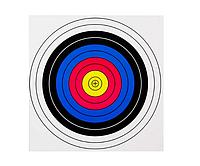 Мішень для стрільби з лука, велика, 60*60 см, 10 шт. в комплекті