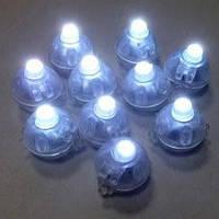 Светодиоды для воздушных шариков круглые белые
