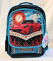 Школьный ранец ортопедический + Пенал 3, 4, 5 класс. Для мальчиков и девочек. Рюкзак, портфель для школы