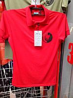 Футболка поло С-259 красный