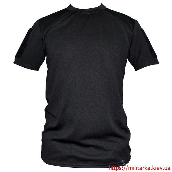 Футболка COOLMAX Camo-tec с велко black
