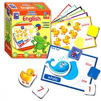 """Обучающие карточки английский язык  """"Животные"""" на магнитах"""
