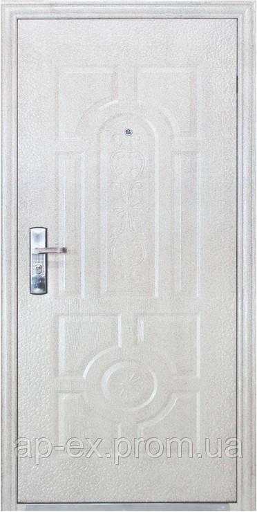Дверь входная Эконом TP-C  50 мраморный молоток  - APEX-ваш ONLINE-магазин. в Днепре