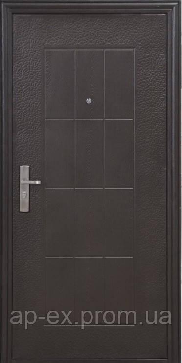Дверь входная Эконом TP-C  09/ 857  2050x860/960x40мм - APEX-ваш ONLINE-магазин. в Днепре