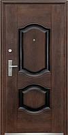 Дверь входная Стандарт ТР-С  61 / 28/ 58Б3 бархатный лак (тефлон)