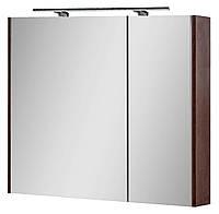 Зеркальный шкаф для ванной комнаты Сенатор Z-80 (с подсветкой) Юввис