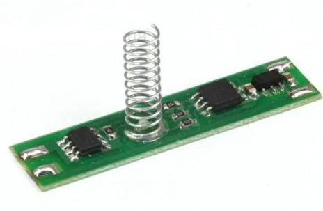 Диммер-выключатель сенсорный для LED ленты 12/24V 5А Код.57781