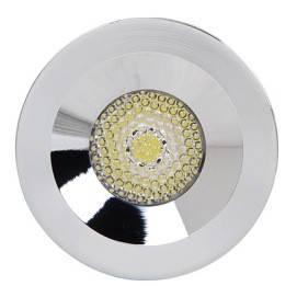 Світлодіодний світильник Horoz (HL666L) 3W 4200K круг хром мат. Код.57780, фото 2