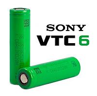 Высокотоковые аккумуляторы 18650 SONY VTC6 на 3120мАч 30А (Original)