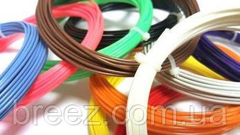 Набор ABS пластика 10 цветов по 10 м для 3d ручки, фото 2