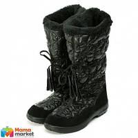 Сапоги зимние для детей Kuoma Glamour Black 1406/03