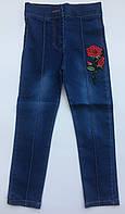 Леггинсы джинсы на девочку 3-6 лет роза, фото 1
