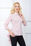 Женская блуза с рукавом 3/4 2070 светло-розовый