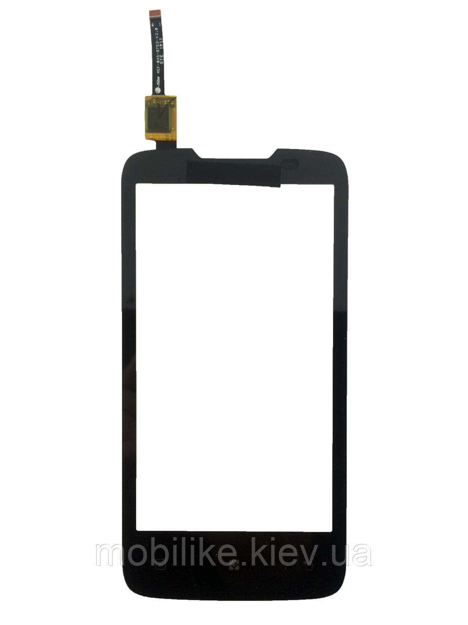 Сенсорний екран Lenovo A820 чорний