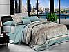 Двуспальный комплект постельного белья евро 200*220 хлопок  (7654) TM KRISPOL Украина