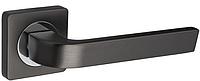 Дверная ручка Gamet Arco хром-графит