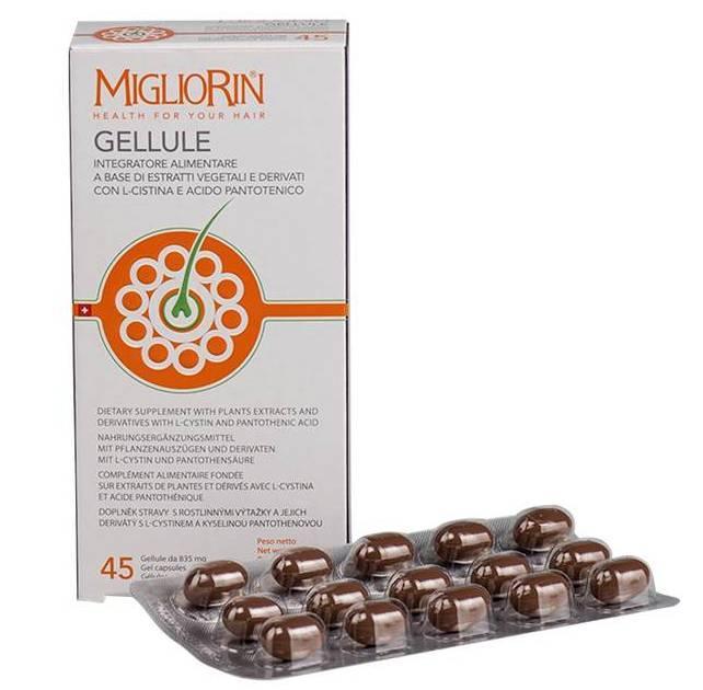 Капсулы для укрепления волос и ногтей Migliorin, Вивасан / Vivasan