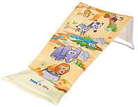Горка для купания ребенка сетчатая «Safari»620234Tega Baby, желтая