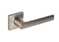 Дверная ручка Gamet Unico кварцованый никель
