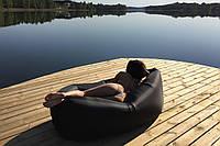 Ламзак, LAMZAC  Black (Ламзак) Черный - надувной матрас, гамак, кресло, диван, Биван!