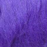 Шерсть овечья для валяния. 50г. Цвет: Ультрамарин. 25-26 мкрн. Топс. Гребенная лента.