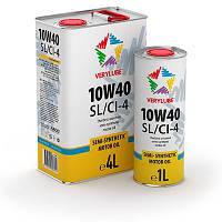 Verylube Oil 10W40 SL/CI-4 Полусинтетическое моторное масло. Произведено с использованием базовых масел