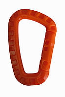 Карабин пластиковый (оранжевый)