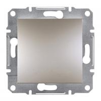 Одноклавишный выключатель IP44 Asfora бронза