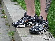 Мужские кроссовки реплика Nike Air Max TN Plus Black/Grey Camo Yellow 647315-080, фото 3