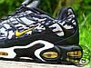 Мужские кроссовки реплика Nike Air Max TN Plus Black/Grey Camo Yellow 647315-080, фото 5