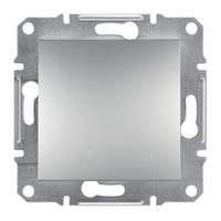 Одноклавишный выключатель IP44 Asfora алюминий