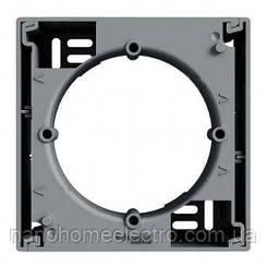 Коробка для наружного монтажа 1-постовая Asfora сталь