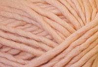 Толстая пряжа ручного прядения. 100% шерсть. Цвет Гладиолус