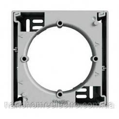 Коробка для наружного монтажа 1-постовая Asfora алюминий