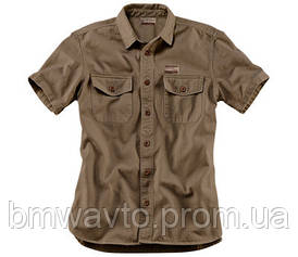 Чоловіча сорочка з коротким рукавом BMW Motorrad Shirt Works, Men, Sand
