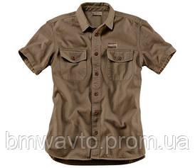 Мужская рубашка с коротким рукавом BMW Motorrad Shirt Works, Men, Sand