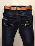 Джинсовые брюки на мальчика подростка 140,164 см, фото 4