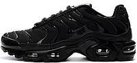 Мужские кроссовки Nike Air Max Tn+ All Full Triple Black