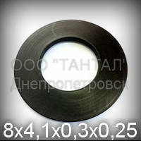 Пружина тарельчатая 8х4,1х0,3х0,25 хромированная ГОСТ 3057-90