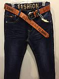 Джинсовые брюки на мальчика подростка 140,164 см, фото 2