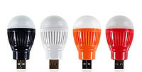 USB лампочка mini, лампа USB mini, лампочка для ноутбуков компьютеров, светодиодная usb лампочка!Акция
