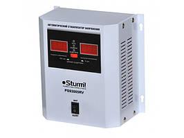 Стабилизатор напряжения релейный 500 ВA настенный Sturm PS930051RV