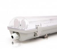 Светодиодный LED светильник 18W 6400К 1200Lm IP65 (2*600мм) промышленный герметичный (с лампами)