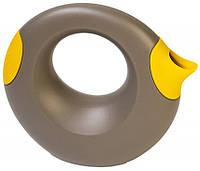 Quut - Лейка Cana, 1 л, серая с желтым, фото 1
