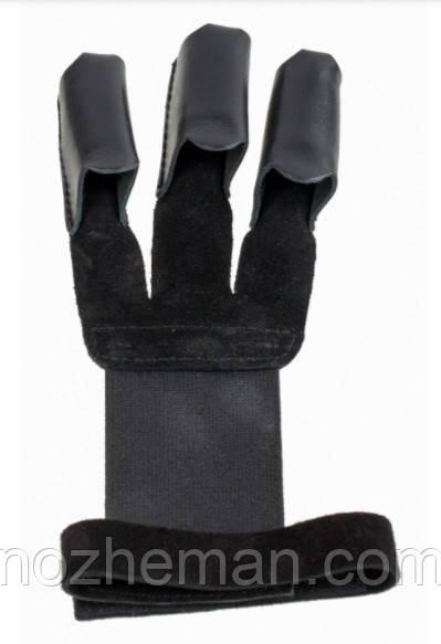 Перчатка для стрельбы из лука, с мягкой кожи