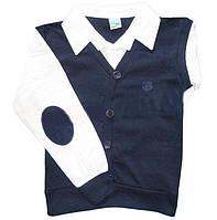Рубашка обманка для мальчика школа
