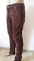 Брюки джинсы вельвет зима